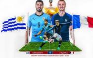 Sốc: Pháp lép vế trong các lần đối đầu với Uruguay