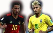 1h ngày 7-7: Bỉ mạnh nhưng khó thắng, Brazil đồng đều hơn?