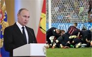 Tổng thống Putin tự hào về các 'chú gấu Nga' dù thất bại ở World Cup