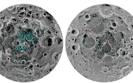 NASA xác nhận có nước đóng băng trên bề mặt Mặt Trăng