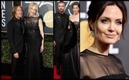 Minh tinh Hollywood đồng loạt sắc đen đến 'Quả Cầu Vàng'