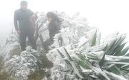 Hà Nội rét dưới 10 độ C, Mẫu Sơn băng giá phủ trắng
