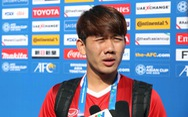 """Tiền vệ Minh Vương: """"Iran mạnh nhưng không phải bất bại"""""""