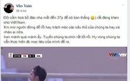CĐV Việt Nam: 'Không ai trách móc các cầu thủ chúng ta'
