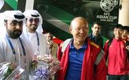 Thầy trò HLV Park Hang Seo đến Al Ain