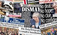 Báo Anh chỉ trích bà May sau 'thảm họa' dự thảo Brexit