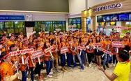 Cổ động viên Việt Nam ngất ngây với chiến thắng trước Yemen