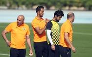 Buổi tập chuyên nghiệp của đội tuyển Jordan