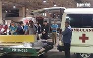 Máy bay chở thi thể ba du khách vụ đánh bom ở Ai Cập về đến TP.HCM