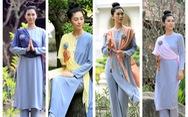 Trang phục lên chùa đẹp nền nã mà vẫn thời trang