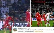 Dân mạng phản ứng pha thổi phạt đền khó hiểu trong trận mở màn Asian Cup 2019