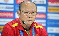 HLV Park: 'Việt Nam chơi ngang ngửa Iraq, sẽ tìm điểm trước Iran'