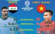 Việt Nam đối đầu Iraq: Tương quan sức mạnh trước giờ G