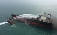 Cứu hỏa Hong Kong nói tàu dầu Việt Nam cháy nổ khi đang tiếp dầu