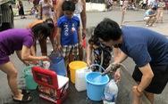 Nhà máy nước Sông Đà dừng cấp nước, nhiều khu vực của Hà Nội mất nước