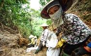Nơi khởi nguồn sự cố nước sông Đà, mùi dầu thải vẫn xộc lên từ khe suối