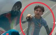 Làm rõ tố cáo đôi nam nữ vung kiếm chém nát kính xe tải trên quốc lộ 13