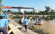 Nhà máy nước nghi xả bùn thải ra hồ điều hòa lớn nhất TP Vinh