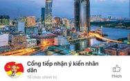 TP.HCM ra mắt Cổng tiếp nhận ý kiến nhân dân qua mạng xã hội