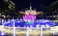 Hằng đêm, phố đi bộ Nguyễn Huệ đều mở nhạc nước