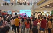 Sự kiện giới thiệu và dùng thử táo Hàn Quốc