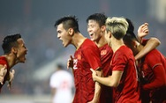 Thắng UAE 1-0, tuyển Việt Nam vươn lên đầu bảng