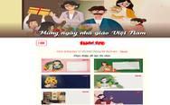 Tạo thiệp chúc mừng Ngày nhà giáo 20-11 trên Tuổi Trẻ Online