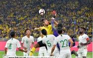Safawi Rasid lập cú đúp giúp Malaysia vươn lên nhì bảng G