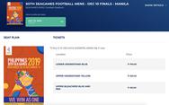 Vé xem thầy trò ông Park đá SEA Games 2019 ở Philippines rẻ không ngờ