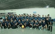 Tuyển nữ và U22 Việt Nam tươi cười lên đường dự SEA Games