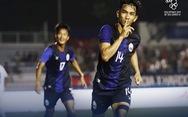 Campuchia dẫn đầu bảng A, chủ nhà Philippines nguy cơ sớm 'rơi đài'