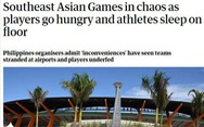Báo chí thế giới: 'SEA Games 30 ở Philippines giống... lễ hội thảm họa Fyre'