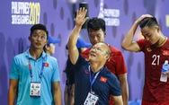 Biểu cảm đáng yêu của ông Park Hang Seo trong trận thắng trước Lào