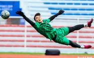 Thủ môn Bùi Tiến Dũng: 'Sẽ cố giữ sạch lưới trước U22 Indonesia'