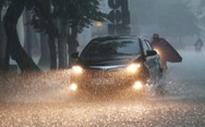Miền Trung có nơi mưa rất to, miền Nam nhiệt độ cao nhất trên 34 độ