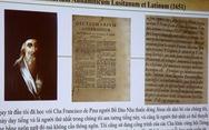 Chữ quốc ngữ: Trăm năm nhớ các tiên hiền