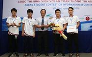 Sinh viên Duy Tân vô địch cuộc thi an toàn thông tin ASEAN
