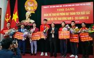 Hải Phòng thưởng nóng thủ môn Văn Toản và các VĐV đoạt huy chương SEA Games