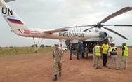 Mũ nồi xanh Việt Nam ở Nam Sudan - Kỳ 2: Đội cấp cứu đường không