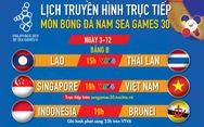 Lịch thi đấu bóng đá nam SEA Games 2019: Việt Nam gặp Singapore