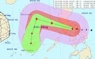 Bão Kammuri giật cấp 17 sắp vào Biển Đông, TP.HCM có mưa rào