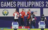 Tổng sắp huy chương SEA Games ngày 5-12: Việt Nam tiếp tục ngôi nhì