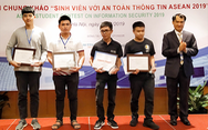 ĐH Duy Tân đoạt giải ba cuộc thi sinh viên với an toàn thông tin ASEAN 2019