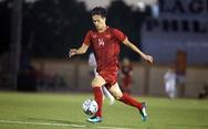Hoàng Đức đá thay Quang Hải ở trận gặp U22 Thái Lan