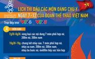 Lịch thi đấu ngày 7-12 của đoàn thể thao Việt Nam tại SEA Games 30