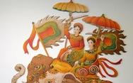 Ngắm Bà Trưng, Bà Triệu, tố nữ mắt to tròn, mặt V-line trong tranh Xuân Lam