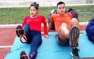 Con được 6 tháng, mẹ 'bỉm sữa' tập luyện giảm 32kg để thi đấu SEA Games