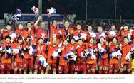 AFC ca ngợi đội tuyển nữ Việt Nam 'xứng đáng đăng quang'
