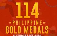 Philippines tạo 'cú sốc' khi đạt số huy chương vàng 'nhiều nhất mọi thời đại'