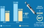 Chống văcxin, dịch sởi toàn cầu tăng 50%